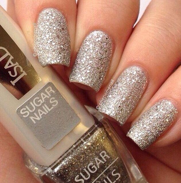 Silver Prom Nails: Silver Nails