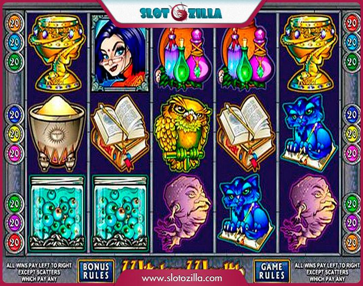 free online slot machine for fun rich witch