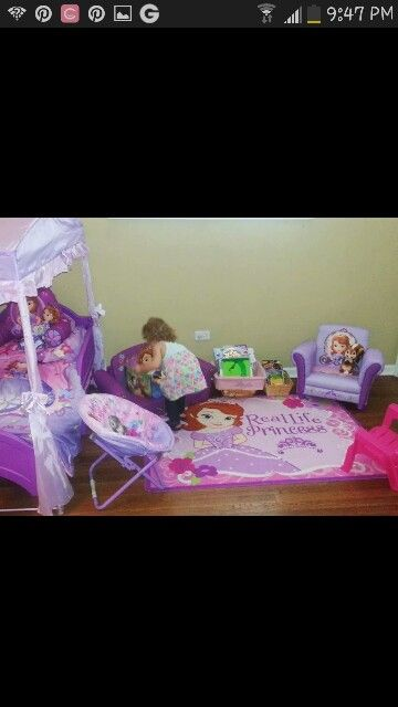 Sofia The First Bedroom Laylas Bedroom Pinterest