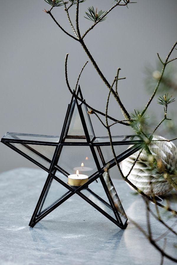 Kandelaar ster - kerstdecoratie