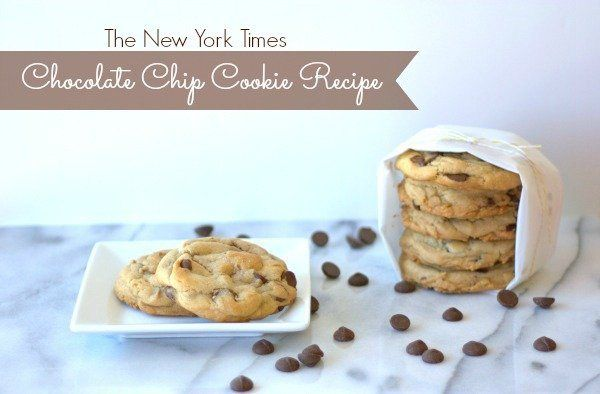 The New York Times Chocolate Chip Cookies | Recipe