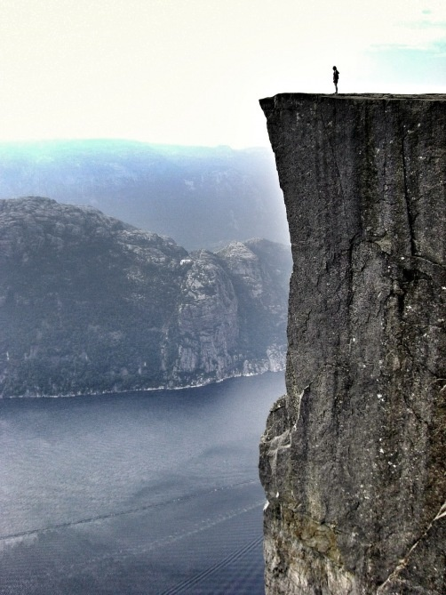 Pulpit Rock Stavanger, Norway  +Photography I adore