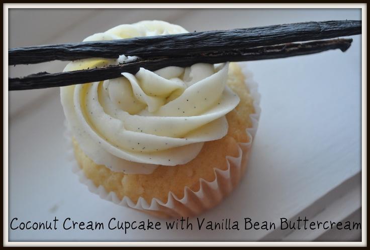 Coconut Cream Cupcake | My Goodies... | Pinterest
