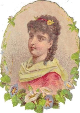 Victorian Scrap Lady