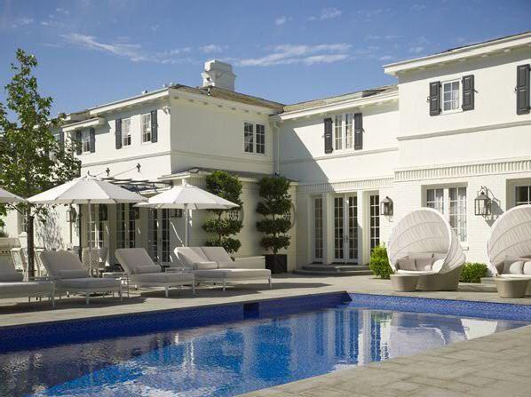 Pretty House Pretty Pool Pool House Rock Pinterest
