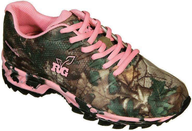 Womens Realtree Girl Mamba Shoes Size 7 Camo Sneaker