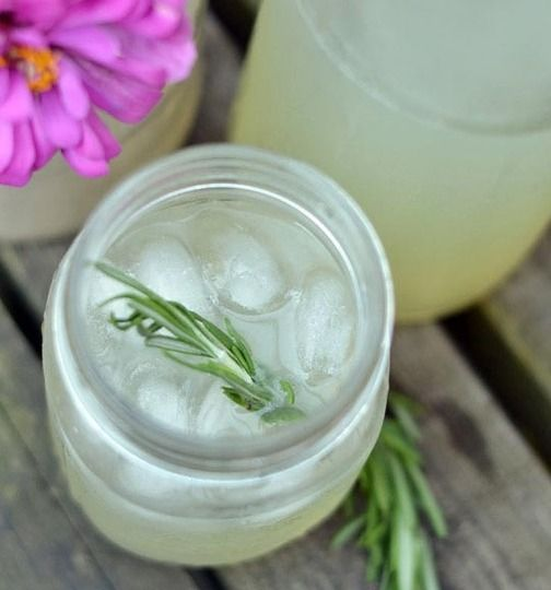 Rosemary Limeade/Rosemary Citrus Spritzer/Peach and Rosemary Spritzer ...