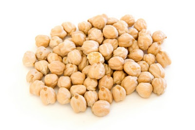 Moroccan Chickpeas with Roasted Red Pepers, Parsley and Mint