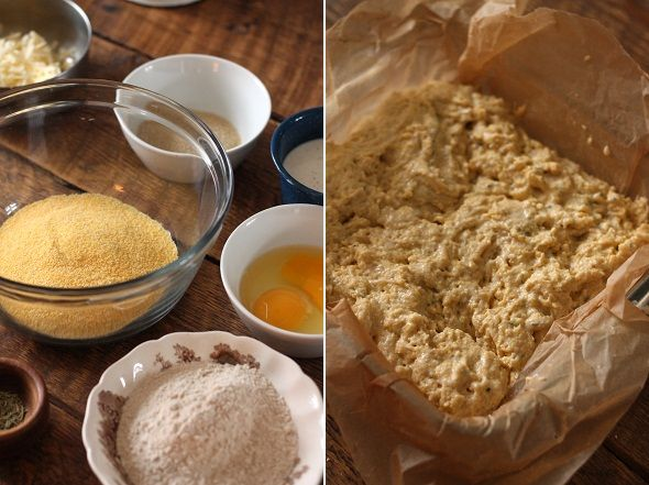 Cheddar-Rosemary Cornbread | Food | Pinterest