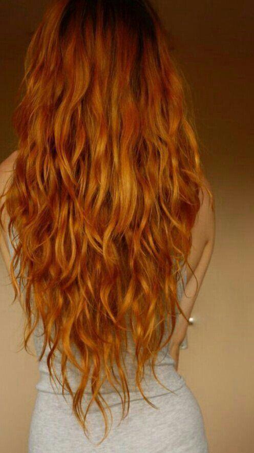 красивые фото рыжих девушек со спины