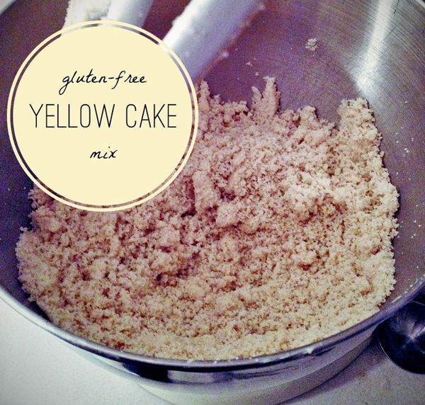 gluten free yellow cake mix from scratch won't work for me asis--has ...
