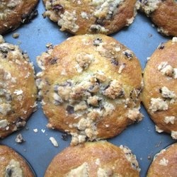 Choclate Chunk Muffins with Cocoa Nib Streusel — Punchfork