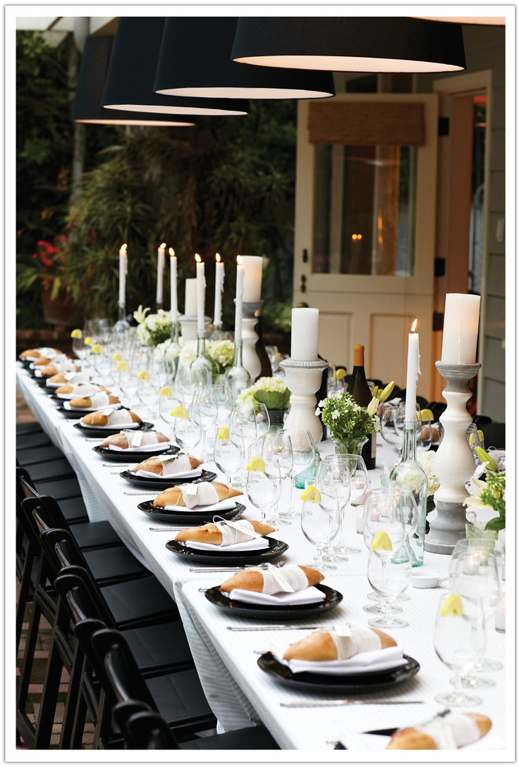 Table Setting For Dinner Party : Dinner Party