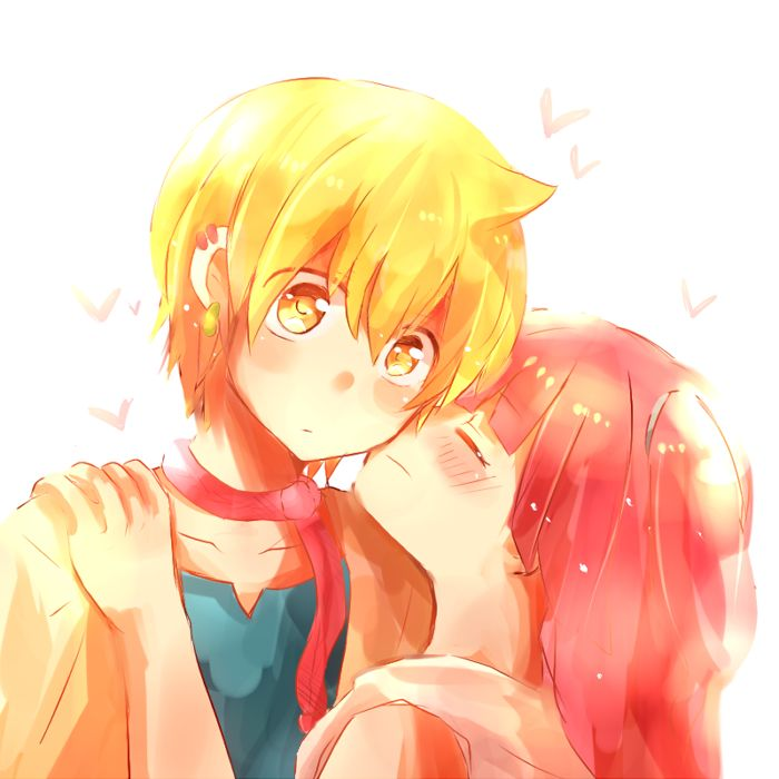 magi alibaba and morgiana kiss - photo #6