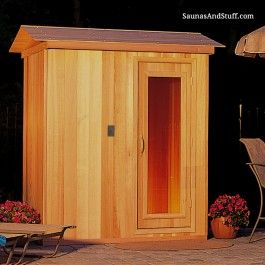 Saunas Outdoor saunas.   Mi Casa   Pinterest