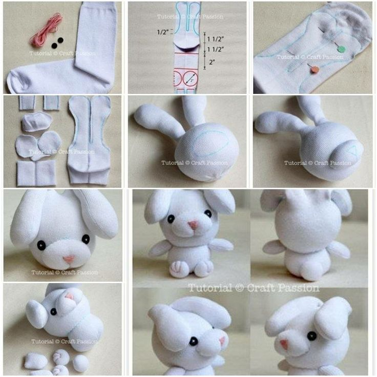 Как сделать мягкую игрушку поэтапно своими руками