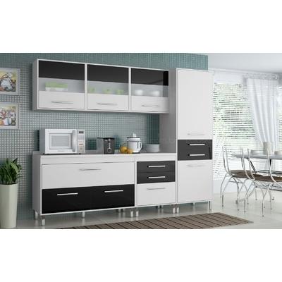 Conjunto Cozinha Completa Life Carraro R$1335.56. CLIQUE na foto e confira!