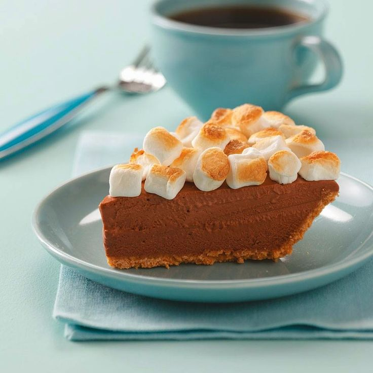 Welcome Home: Dreamy S'more Pie | Dessert Recipes | Pinterest