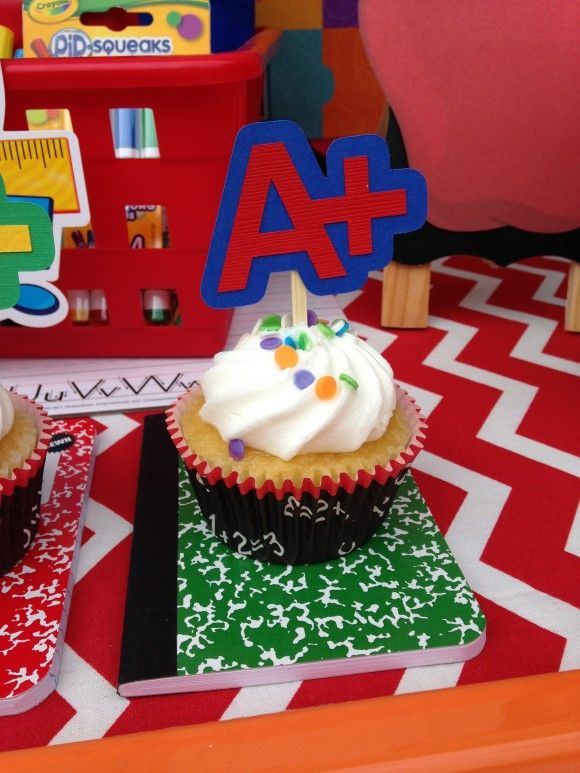 Back to school party ideas from laura s little party via catchmyparty