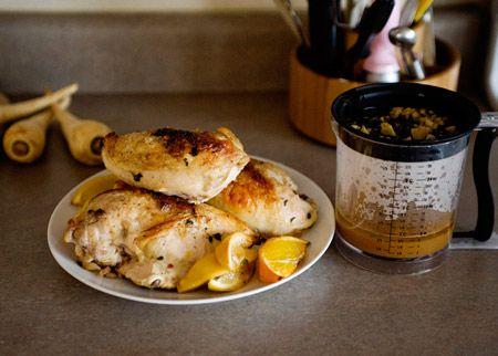 Herb and Citrus Marinated Roasted Chicken
