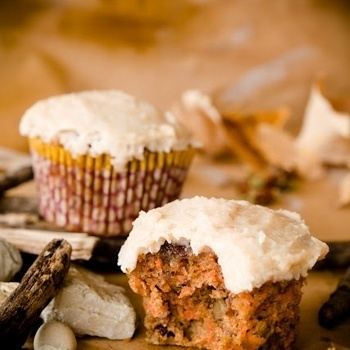 Paleo Carrot Cupcakes (Gluten Free And Dairy Free)
