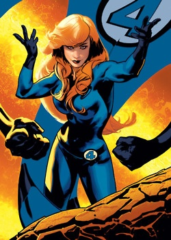 Invisible Woman of the Fantastic Four