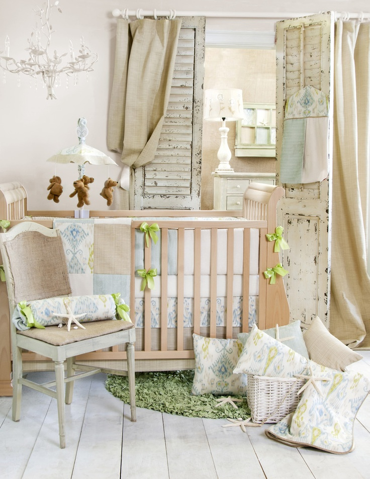 Boy nursery bedding
