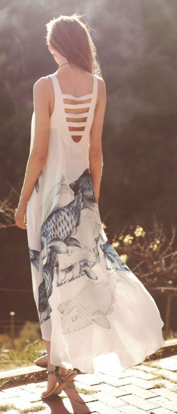 Koi maxi dress tout ce qu 39 il y a du chic pinterest for Koi fish dress