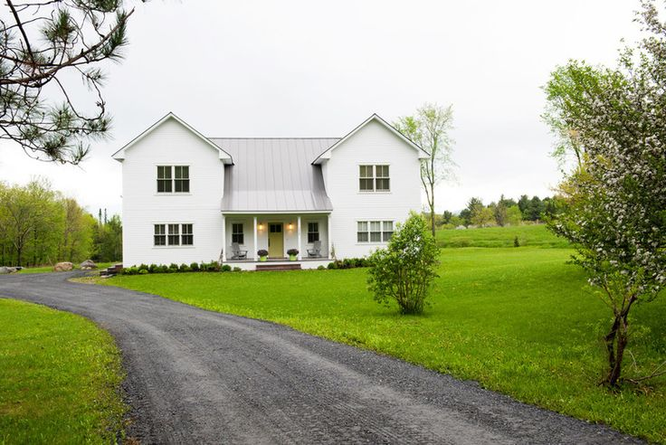 Farmhouse Exterior By Mary Prince Exterior Home