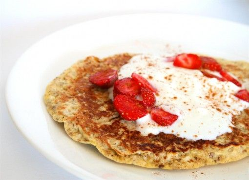 Oatmeal Protein Pancakes | Recipes: BBB (Pancakes, Crepes, Waffles, F ...