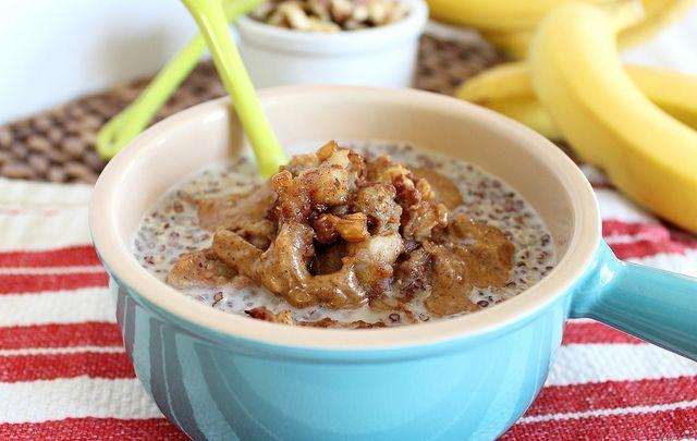 "Quinoa ""Cereal"" with Caramelized Bananas | Recipe"