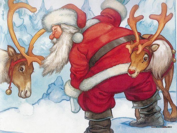 Rudolph Reindeer & Santa