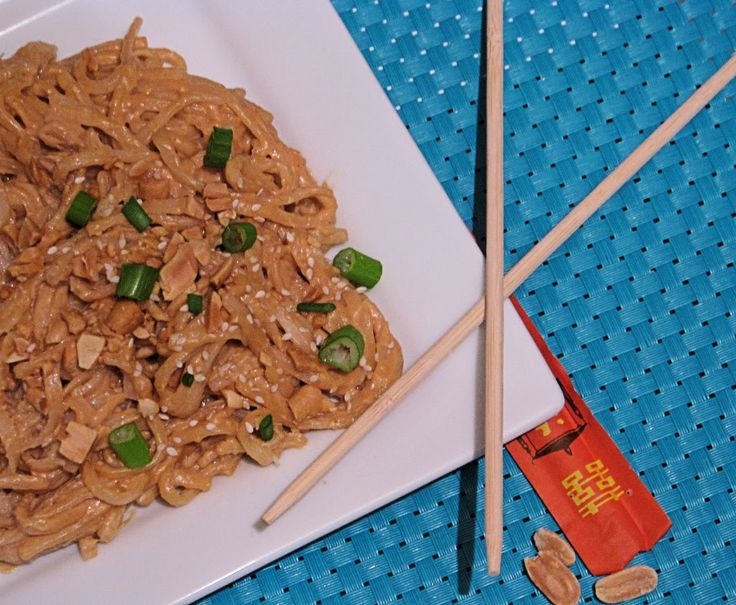 ... that are Angie Tested and BigBear Approved!}: Peanut Butter Noodles