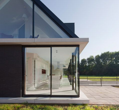 Glass House With Gable Roof Holland Kingston Pinterest