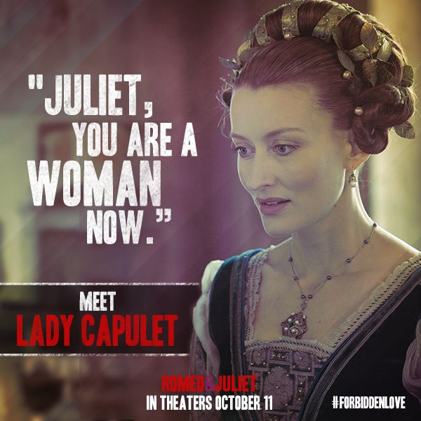 juliet capulet and her relationship to Develops juliet's character through her interactions with her mother student   what is the relationship between capulet's wife and juliet.