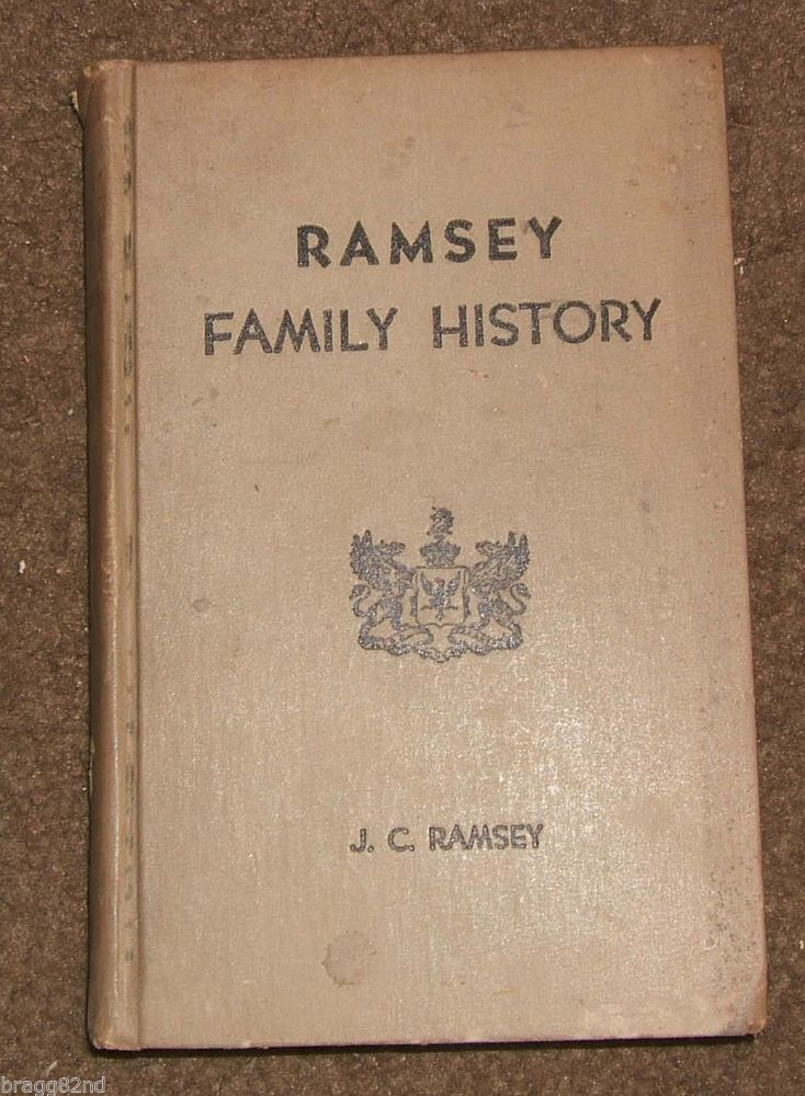 an introduction to the history of the ramesy family Ford, austin and ramsay's principles of corporations law, 17th edition is a well- respected and sought after  introduction  ch 2 the origins of company law.