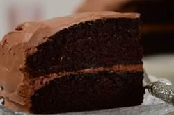 This Simple Chocolate Cake is wonderfully moist and so delicious with ...