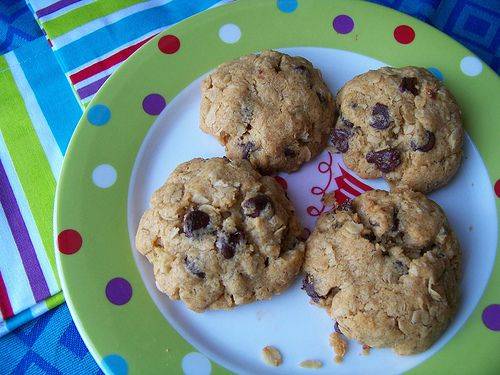 Whole Wheat Chocolate Chip Oatmeal Cookies--definitely my favorite ...