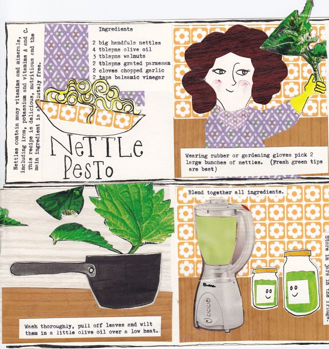 nettle-pesto | Nettles | Pinterest