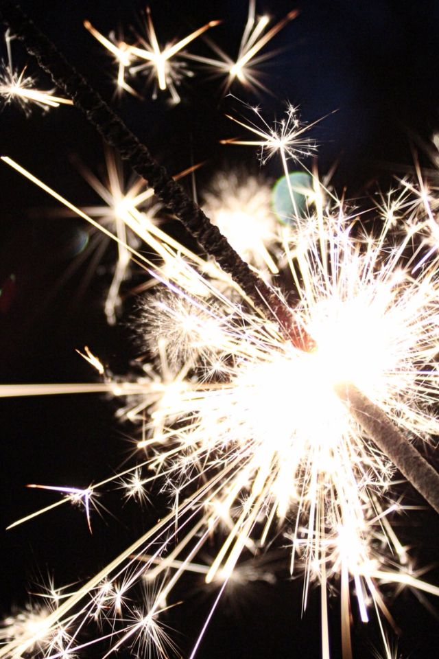 sparkler ~ celebrate!
