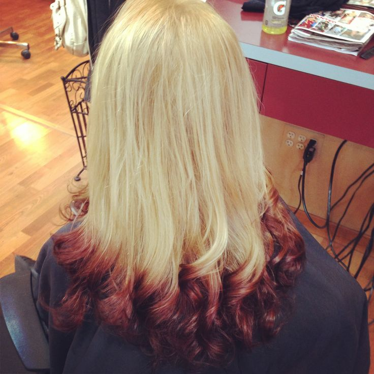 Pictures Of Reverse Ombre Hair Red To Black Kidskunst Info