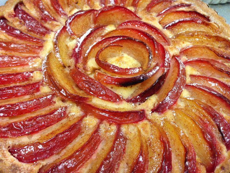 Plum tart | The Culinary Institute of America | Pinterest