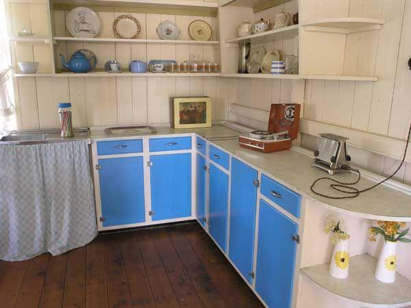 retro 1950s kitchen worktops vintage kitchen pinterest