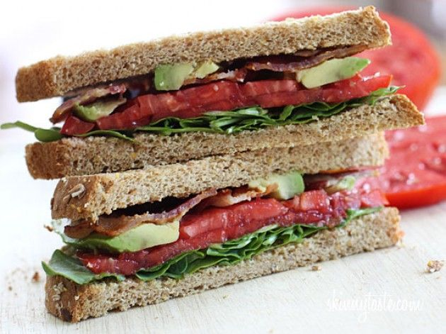 BLT With Avocado Nutrition Info Calories: 383 Fat: 15g Carbs: 42g ...