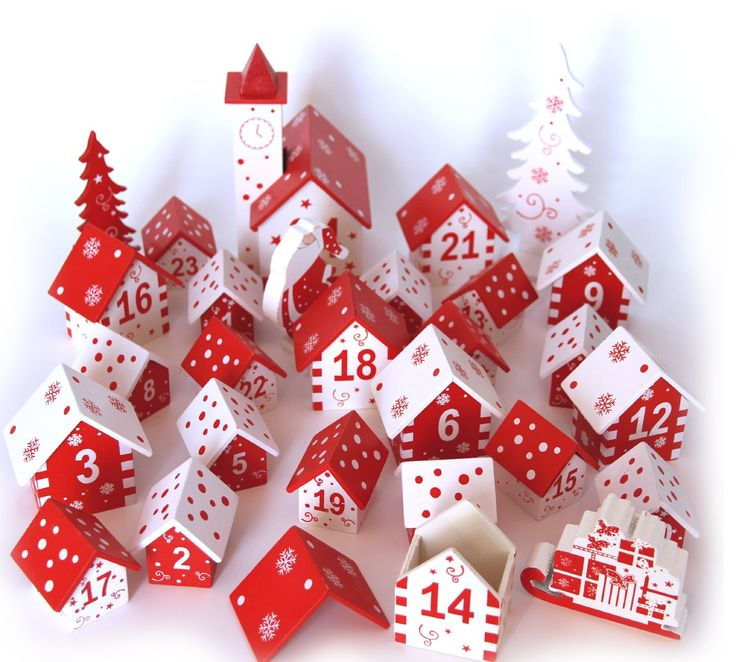 9 Adventskalender zum Befüllen * 9 christmast calenders to fill