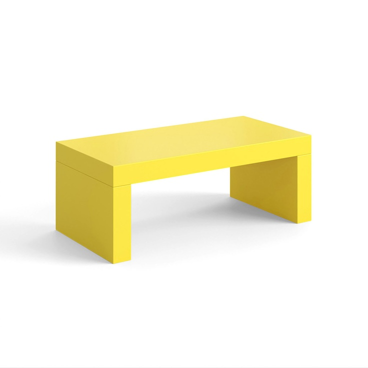 R2 Coffee Table Yellow