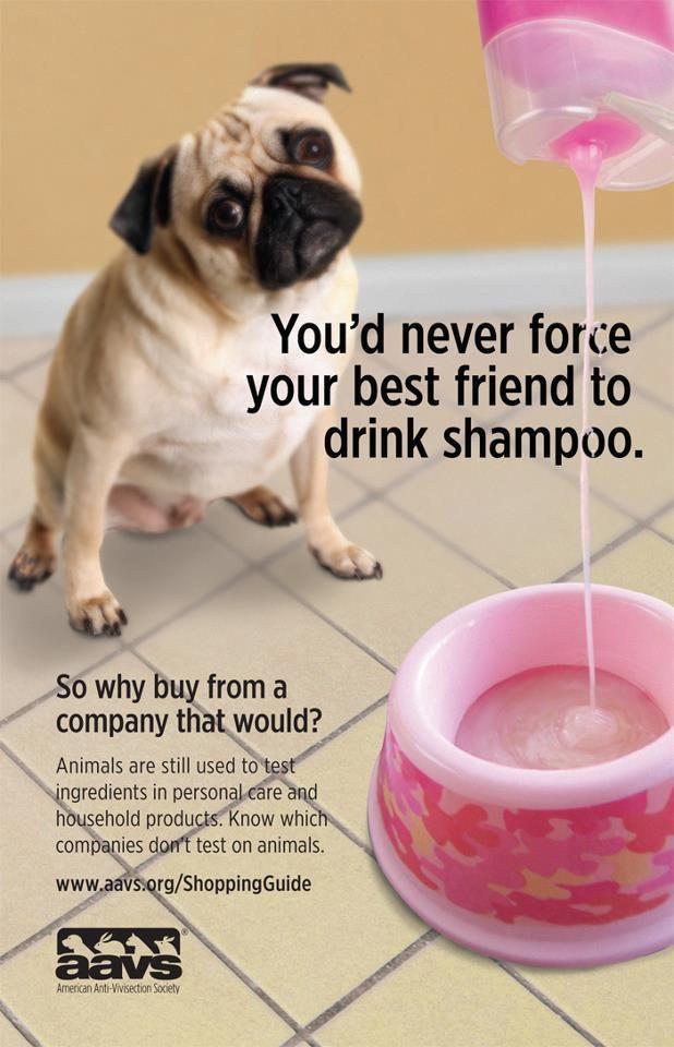 Δεν θα ανάγκαζες ποτέ τον φίλο σου να πιει σαμπουάν...