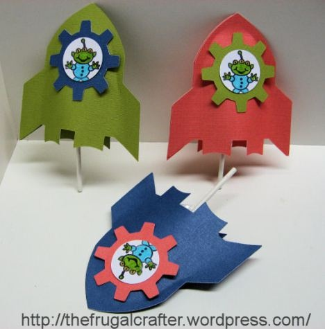 valentine box rocket ship