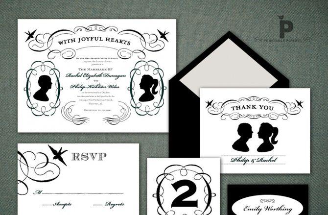 Silhuetas em casamentos
