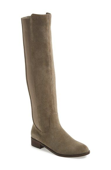 Free shipping and returns on Very Volatile 'Timber' Suede Knee High Boot (Women) at Nordstrom.com. Go beyond the basic boot with this versatile, soft suede knee high that features a round toe and extended topline. Stretchy elastic side panels perfect the fit and feel.